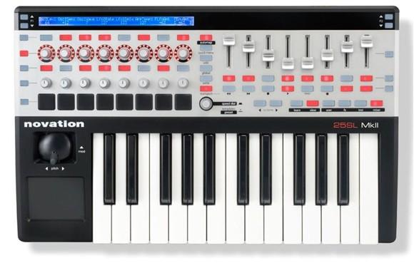 Novation - 25 SL MKII - USB MIDI Keyboard