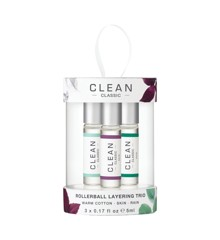 Clean - Layering Trio 3 x 5 ml  - Giftset