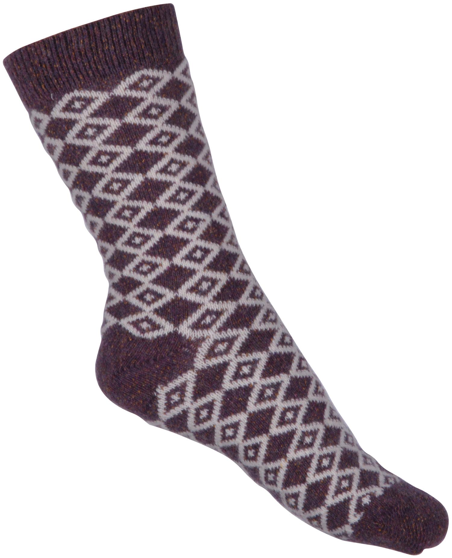 Melton - Wool Sock Nordic w. Silk