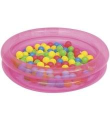 Bestway - Aktivitets 2-Rings Bold Pool Φ91cm x H20cm - Pink (51085)