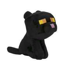 """Minecraft Happy Explorer 7"""" Black Cat Plush"""
