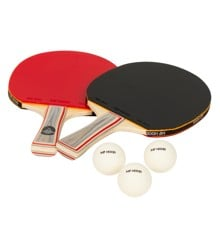 My Hood - Tabletennis Set of 2 Bats & 3 Balls (901021)