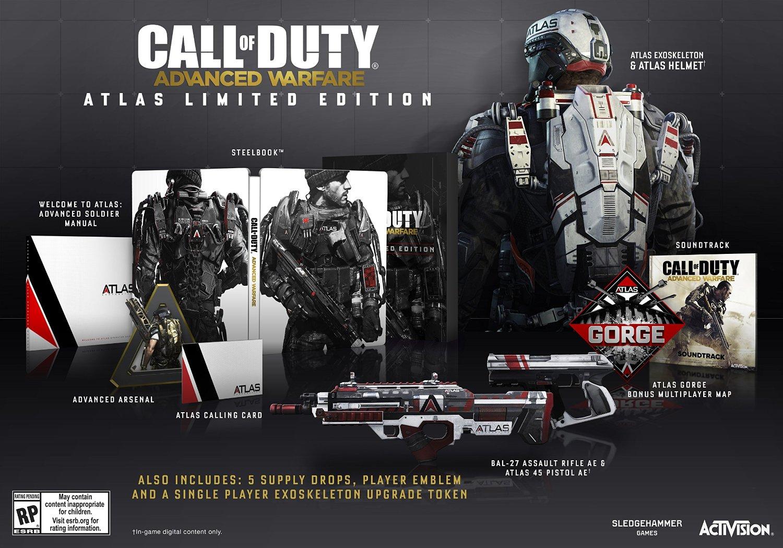 Bilde av Call Of Duty: Advanced Warfare - Atlas Limited Edition