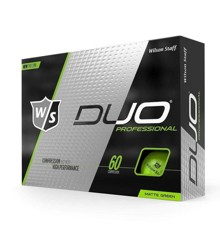 WILSON STAFF - DUO PRO GREEN MATTE GOLF BALLS