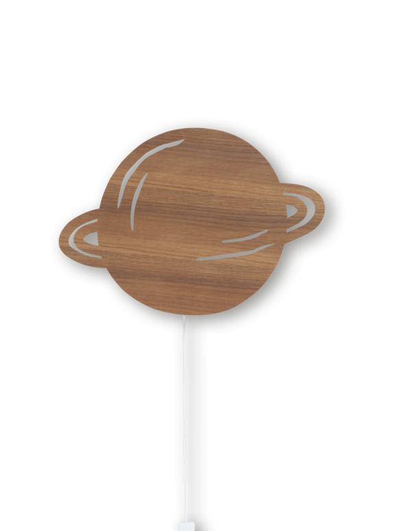 Ferm Living - Planet Lamp - Smoked Oak (3332)