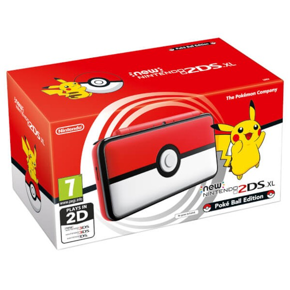 Nintendo 2DS XL - Pokeball Edition
