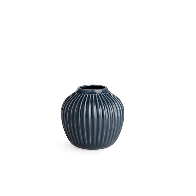 Kähler - Hammershøi Vase Small - Grey (692365/15376)