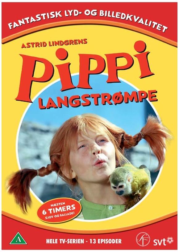 Pippi Langstrømpe: Hele TV-serien (6-disc) - DVD