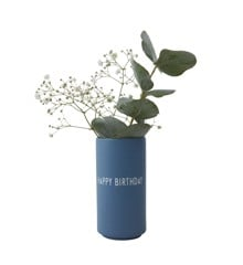 Design Letters - Favoritvase Happy - Blue (10101005BLUEHAPPY)
