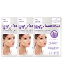Skin Republic - 3x Neck + Decolletage Repair Sheet Mask