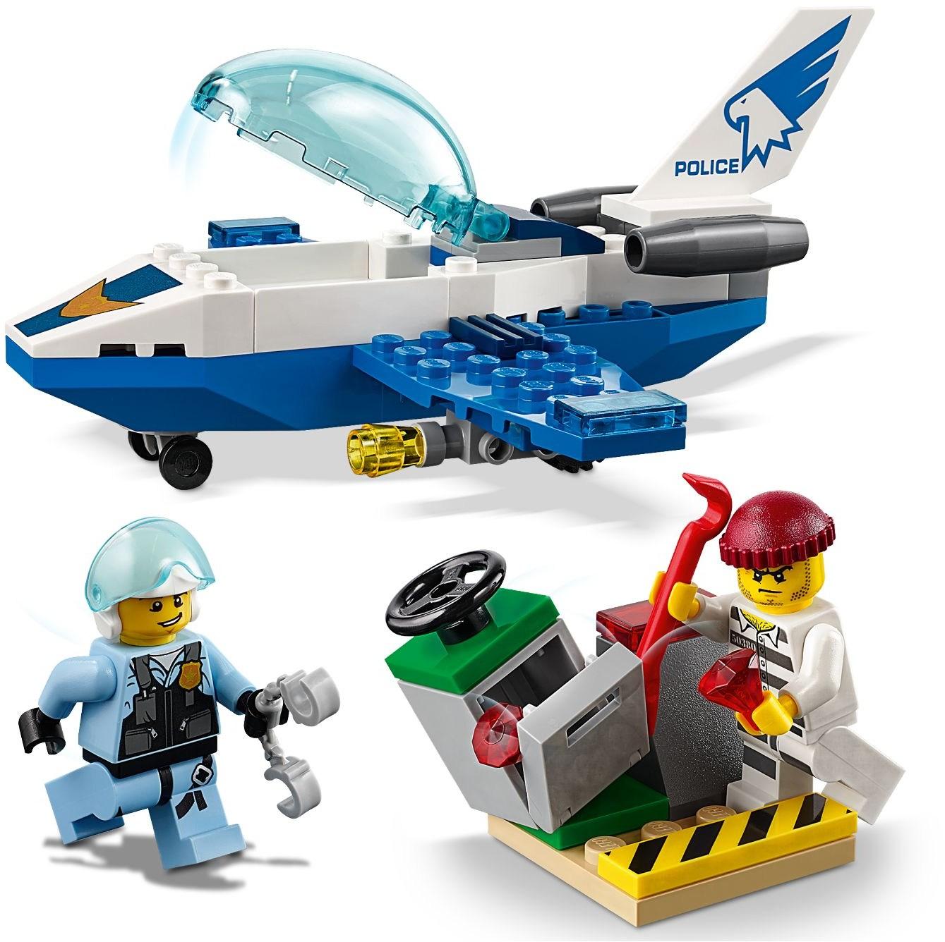 LEGO City - Luftpolitiets Patrulje-jetfly (60206)