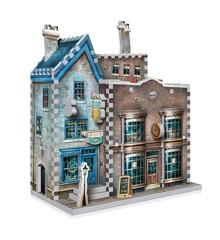Wrebbit 3D Puzzle - Diagon Alley Collection - Ollivanders & Scribbulus