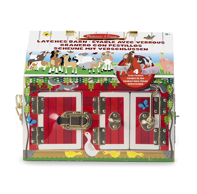 Melissa & Doug - Activity Barn with 4 Cute Animals (12564)