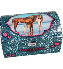 Horses Dreams - Jewelry Box- Blue (048933 )