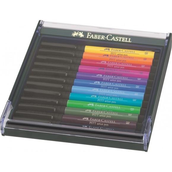 Faber-Castell - Pitt Artist Pen - Bright (267421)