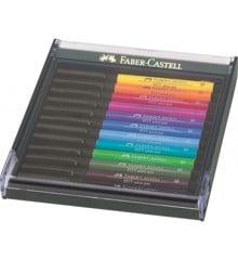 Faber-Castell - Pitt Artist Pen - Gaveæske - Klare Farver (267421)