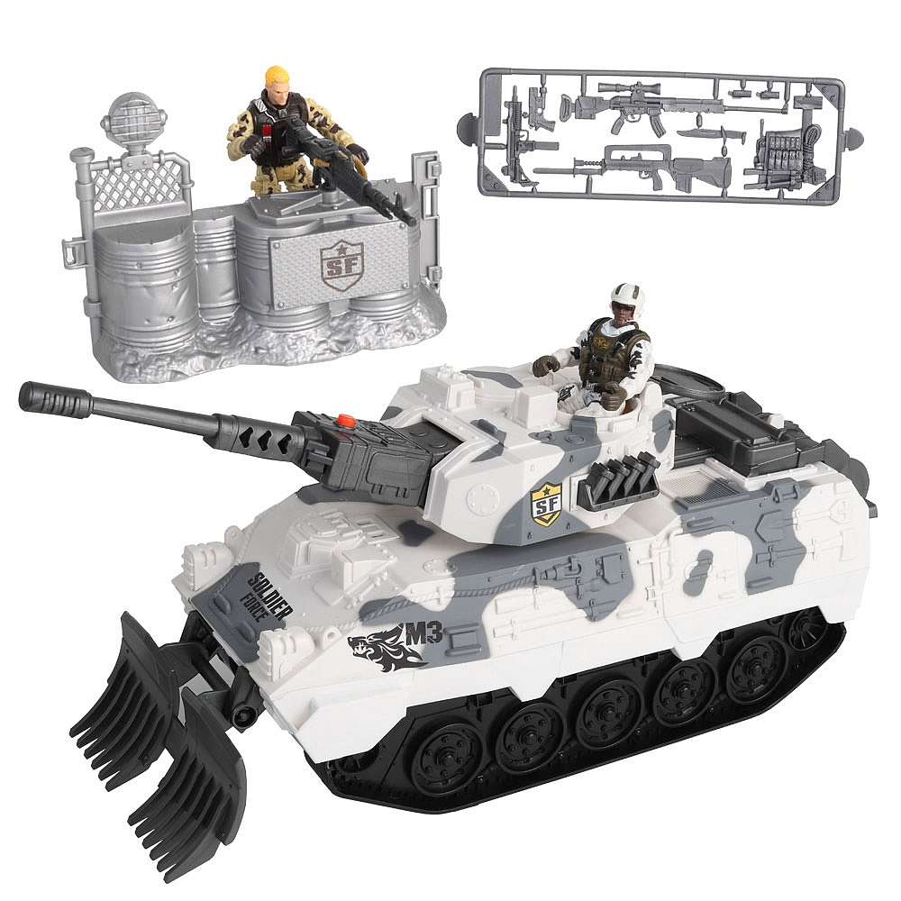 Soldier Force - Desert Tank Playset (545058)