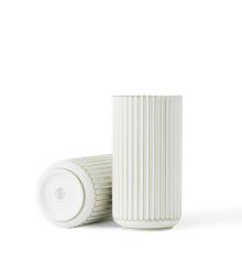 Lyngby Porcelæn - Vase  Ø 25 cm - Hvid/Guld