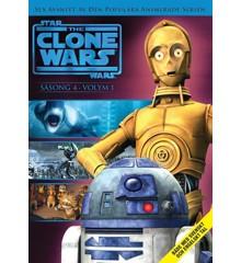 Star Wars - The Clone Wars - Sæson 4 vol 1 - DVD