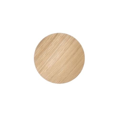 Ferm Living - Wire Basket Top Small - Oiled Oak Veneer (3185)