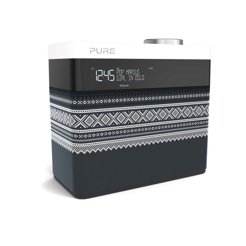 Pure - Pop Maxi FM/DAB/DAB+/BT Radio Marius Edt. Grey