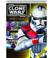 Star Wars - The Clone Wars - Season 3 vol 1 - DVD