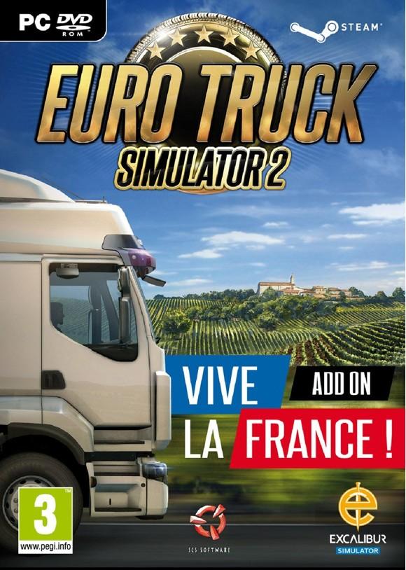 Euro Truck Simulator 2 - Vive La France! Add-On
