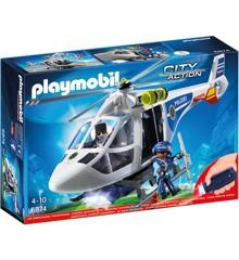 Playmobil - Politihelikopter med LED-søgelys (6921)