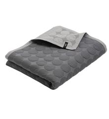 HAY - Mega Dot sengetæppe 235 x 245 cm. New Dark Grey
