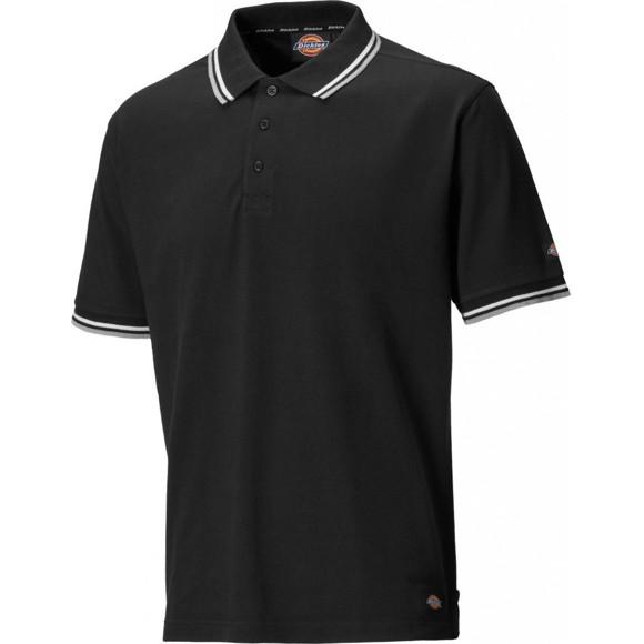 Dickies Mens Riverton Ribbed Polycotton Premium Workwear Polo Shirt