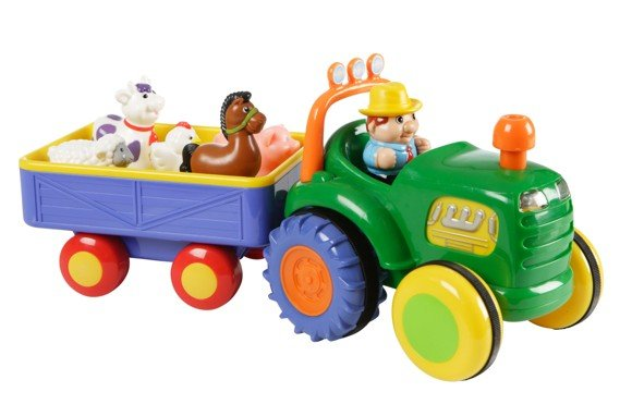 Happy Baby - Farm Tractor with trailer (502038)