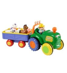 Happy baby -  Farm Traktor med Trailer