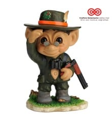 Good Luck Troll - Glenn Hegaard - Hunter Against Cancer Troll 17 cm - Large (93196)