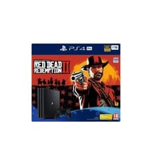 Playstation 4 Console - 1TB Pro (Red Dead Redemption 2)