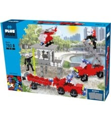 Plus Plus - Mini Basic - Fire Station, 760 pc  (3776)