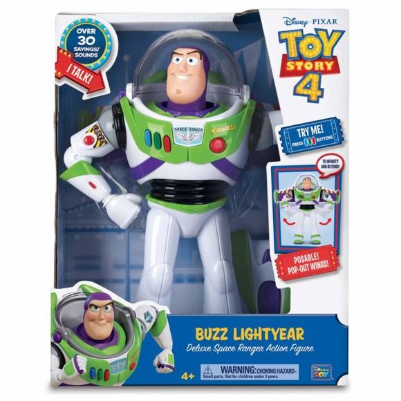 Toy Story - Deluxe Talking Buzz Lightyear (931-64451)