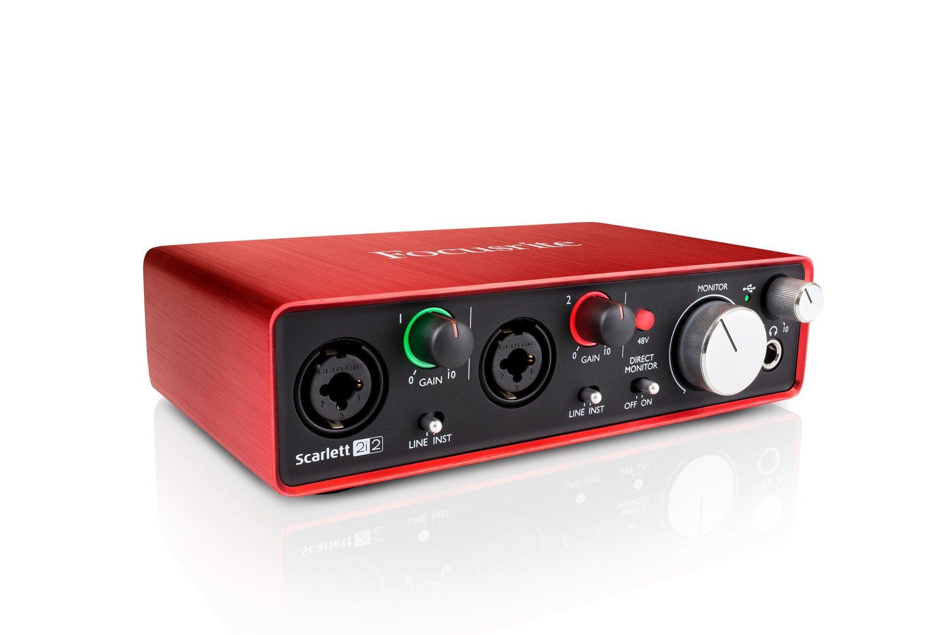 Kaufe Focusrite   Scarlett 211i211 Studio MKII   USB Audio Interface ...