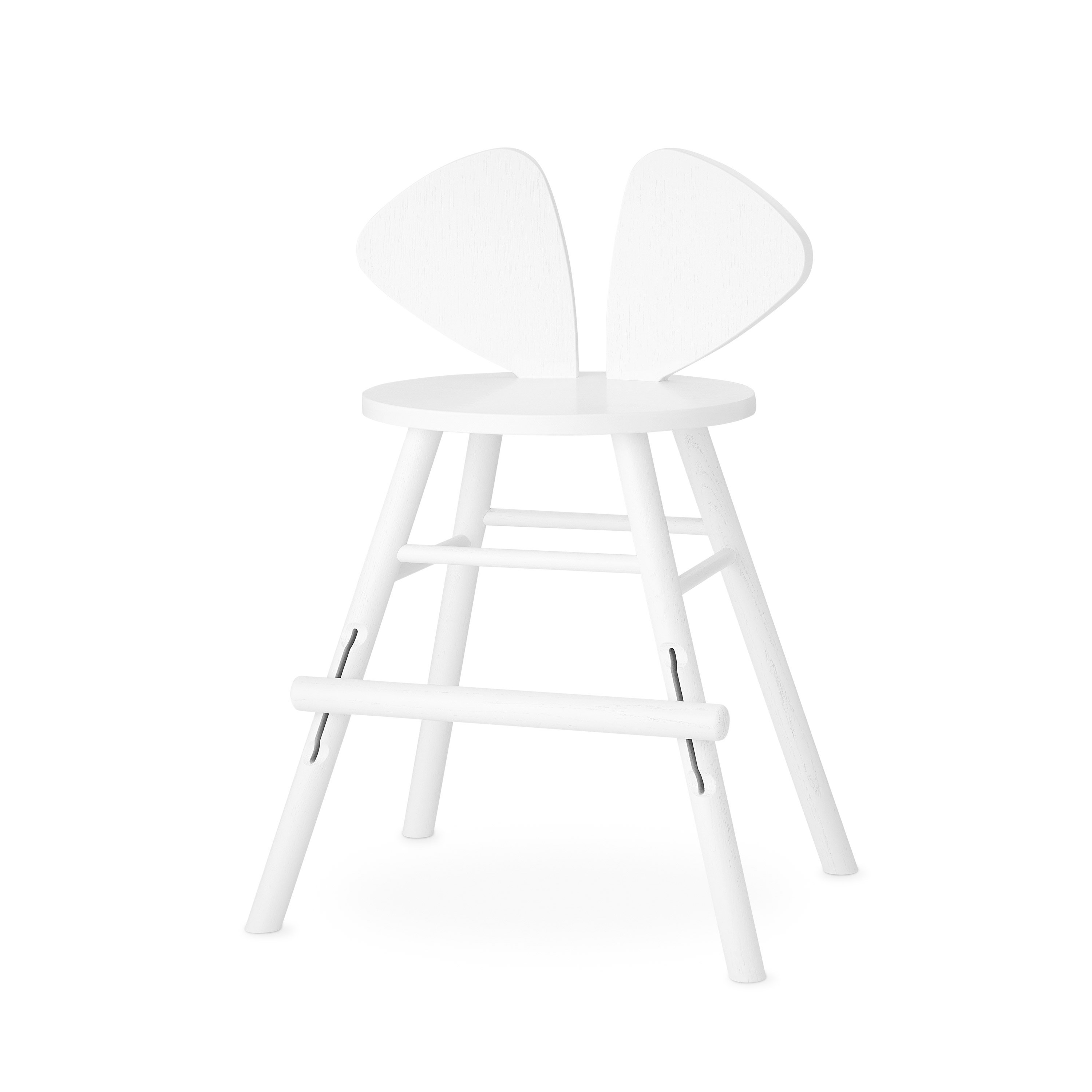Nofred - Mouse High Chair Junior - White