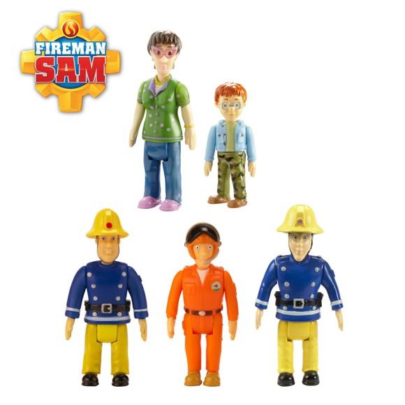 Brandmand Sam - 5 figur pakke