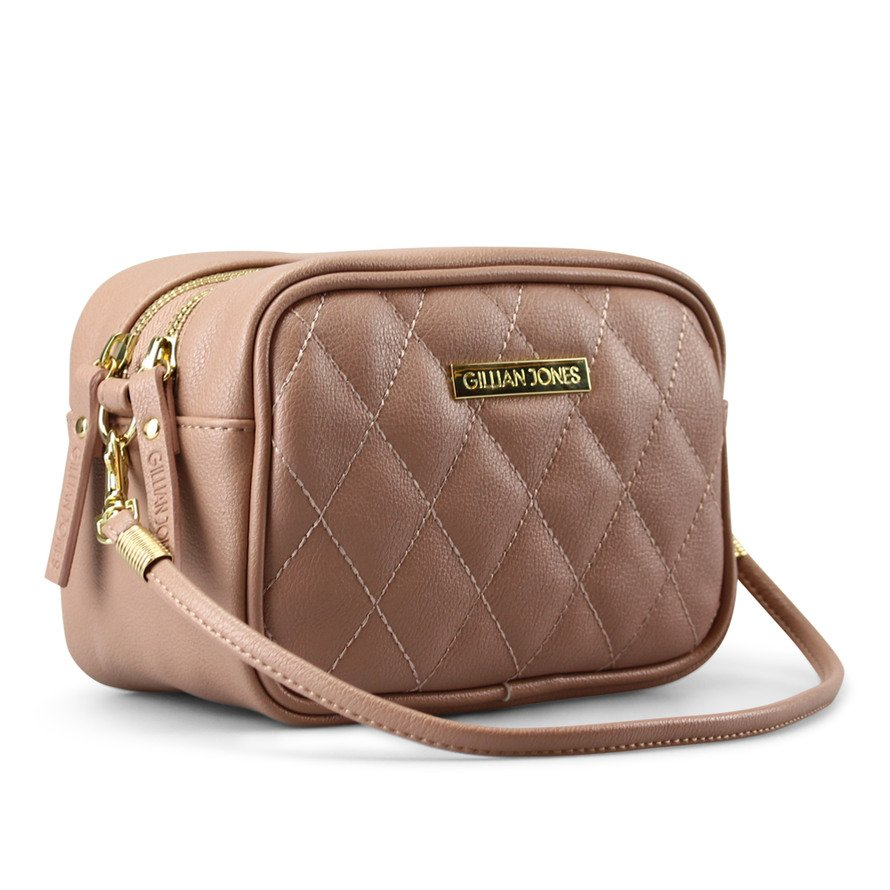Gillian Jones - 2 room Cosmetic Bag