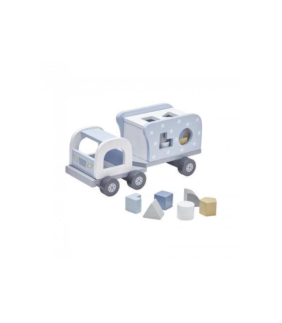 Kids Concept - Sorterings Lastbil (Blå)