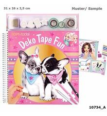 Top Model - Deko Fun Colouring Book - Dog (0410734)