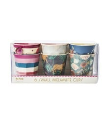 Rice - Melamine Cups 6 Pcs Small - Simply Yes