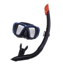 Bestway - Hydro-Pro - BlackSea Maske & Snorkel Sæt til Voksne - Blå (24021B)