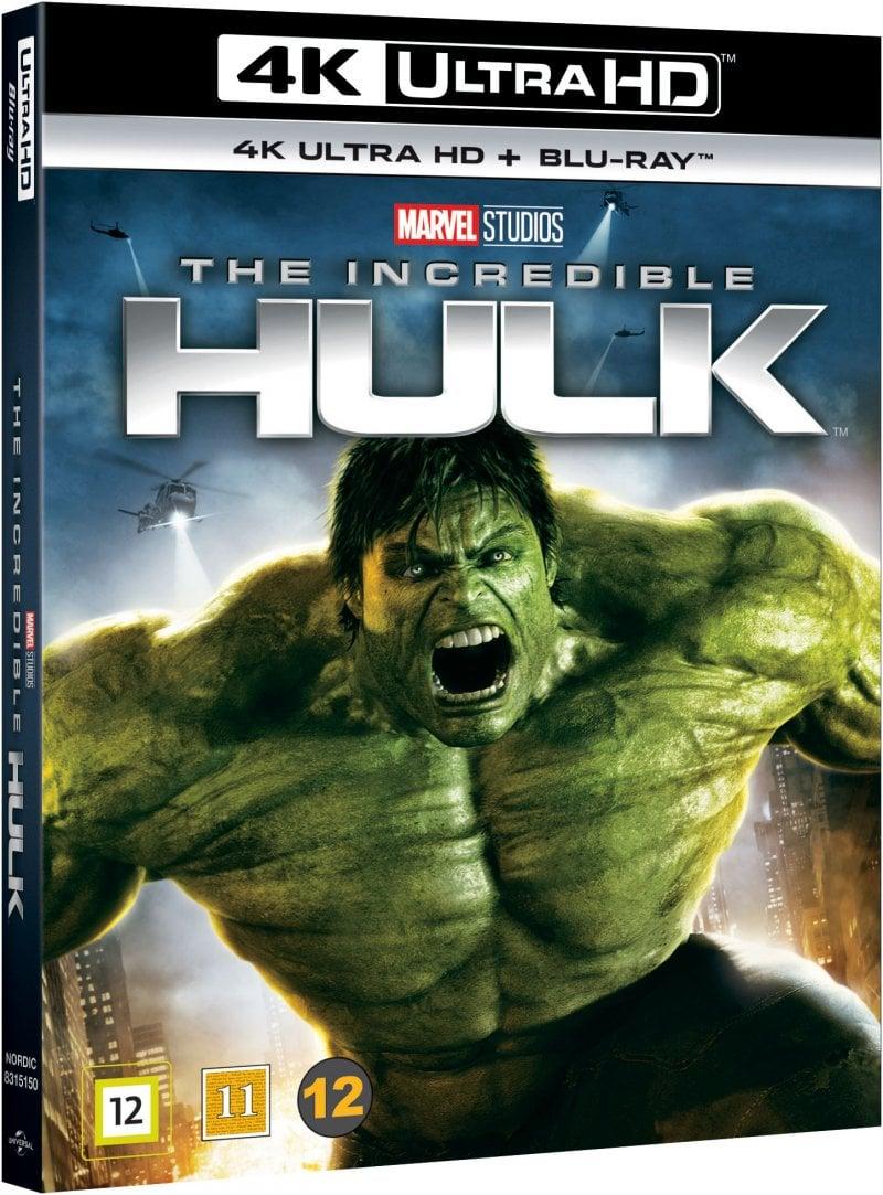 Incredible Hulk  (4K Blu-Ray)