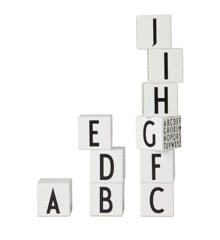 ​Design Letters - Blocks ​ABC - White (20201601INT)