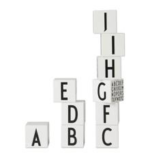 Design Letters - Træklodser ABC - Hvid