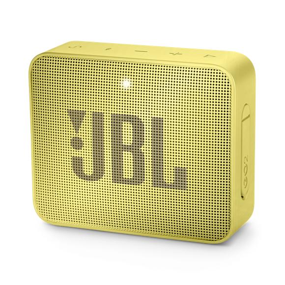 JBL - GO 2 Portable Bluetooth Speaker Sunny Yellow - E