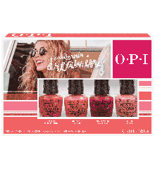 OPI - California Dreaming Mini Sæt Neglelak - 4 x 3,75 ml