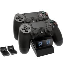 Venom PlayStation 4 Twin Charge Docking Station - Black (PS4)